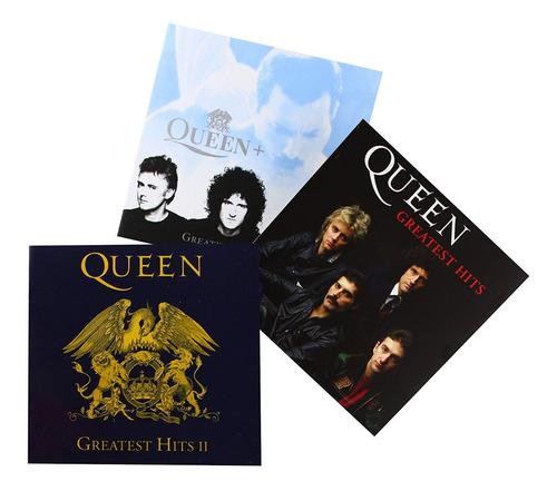 queen - greatest hits 1 2 3 collection [box 3cd] lacrado