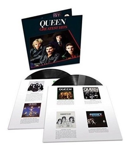 queen - greatest hits 1 doble lp disponible envio gratis