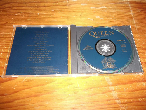 queen - greatest hits 2 cd ingles ed 1991 mdisk