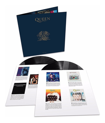 queen greatest hits 2  vinilo doble 180 gr nuevo importado