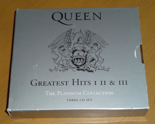 queen greatest hits || the platinium collection || set 3 cds