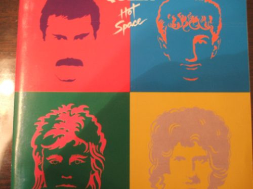 queen  hot space   cd remasterizado  (caballito)