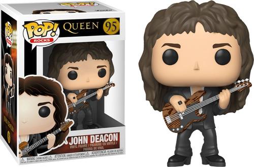 queen john deacon figura funko pop! rocks