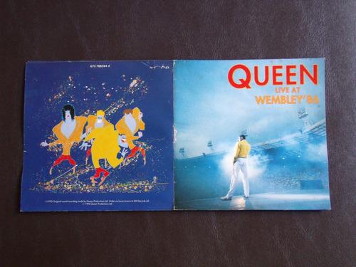 queen - live at wembley '86 - cd (duplo) -edição 1992