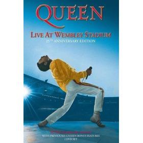 Queen Live At Wembley Stadium 2dvd Nuevo Cerrado En Stock