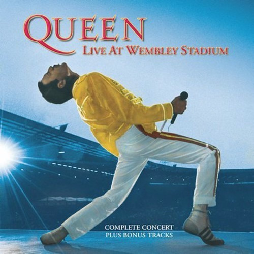 queen-live at wembley stadium cd import