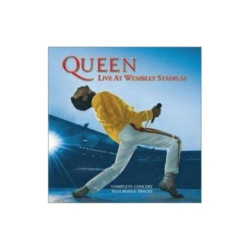 queen live at wembley stadium importado cd x 2 novo
