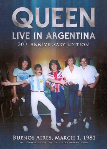queen live in argentina 1981 (2 dvd's)