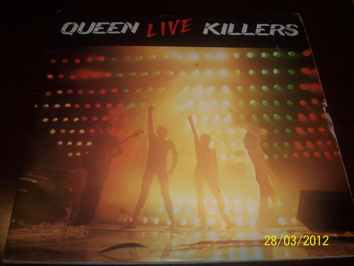 queen live killers vinyl two lp set 1979 raincloud spain u s en mercado libre. Black Bedroom Furniture Sets. Home Design Ideas
