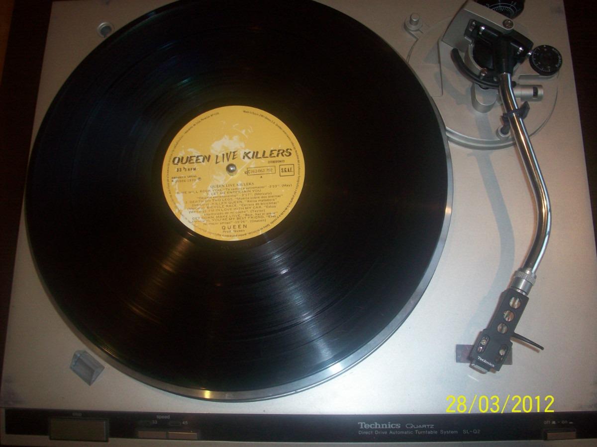 Queen Live Killers Vinyl Two Lp Set 1979 Raincloud Spain