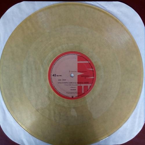 queen - lp 45 rpm - crazy little thing called love