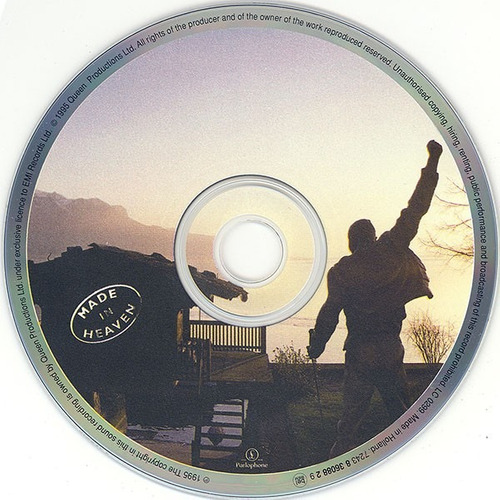 queen - made in heaven (sello emi cd made in holanda)