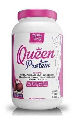 queen protein solo para ellas 1100gr + smart shaker