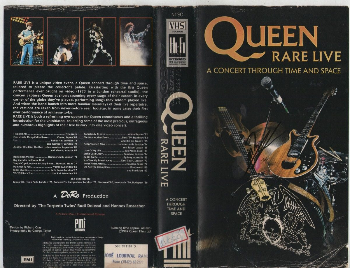 Queen Rare Live A Concert Through Time & Greatest Flix2 Vol