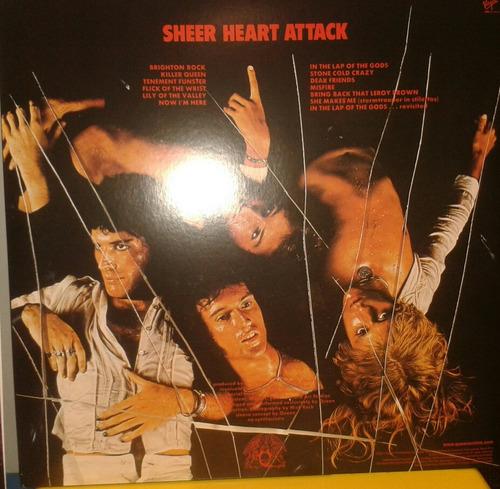 queen sheart heart attack vinilo reedicion