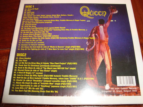 queen smiles from under the crown 2cds importados