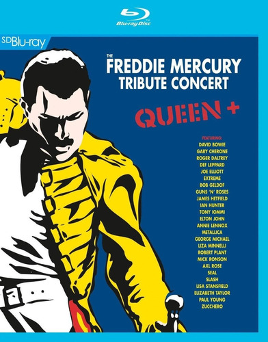 queen - the freddie mercury tribute concert [blu-ray] lacrad