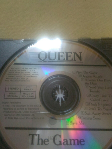 queen the game made in uk kiss aerosmith ddd