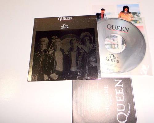 queen - the game  -  mini lp cd japão