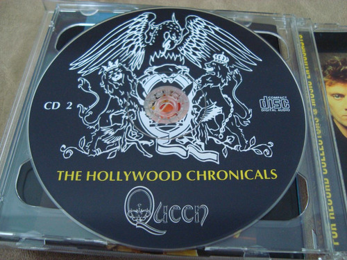 queen the hollywood chronicals 2cds importados