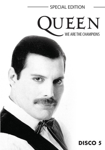 queen - we are the champions - special edition - box com 5 d