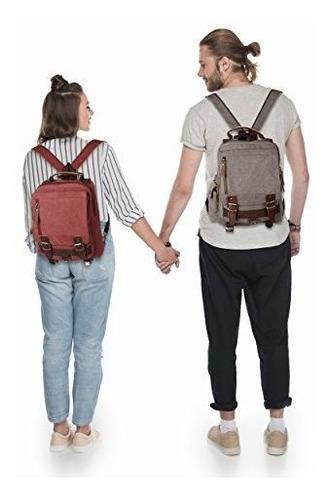 queenie  unisex mochila bandolera de lona sling bolsa de hom