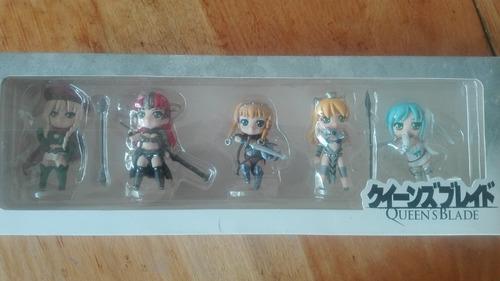 queen's blade figuras set anime nuevo