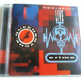 Queensryche - Operation Livecrime Cd Rock Progresivo Heavy