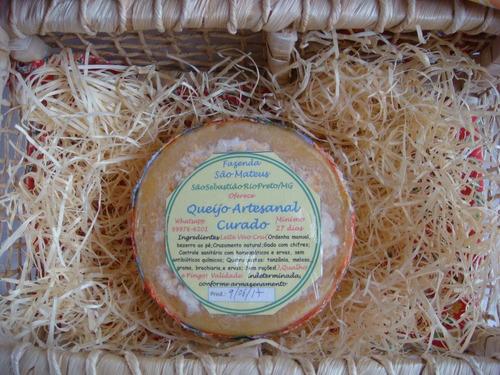 queijo curado morro do pilar - mg produtor liberato