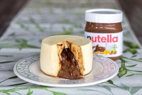 queijo minas frescal trufado com nutella