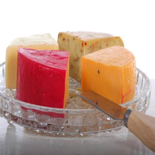 queijo napolitano mix 4 sabores da canastra- 3 peças c 550g
