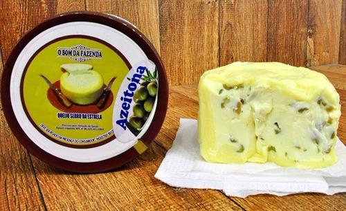 queijo trufado azeitona o bom da fazenda (serro da estrela)