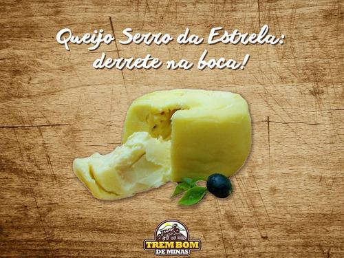 queijo trufado com requeijão + brinde - a pronta entrega