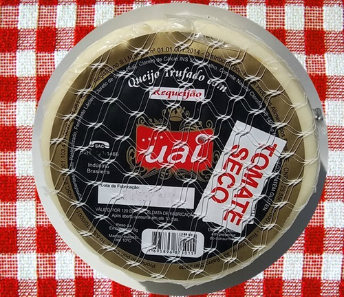queijo trufado com requeijão tomate seco uai mineiro 600grs