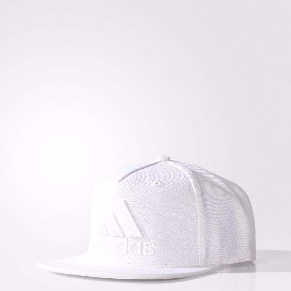 Queima De Estoque Boné adidas Flat Cap Aba Reta Original - R  39 eb7e73115ad