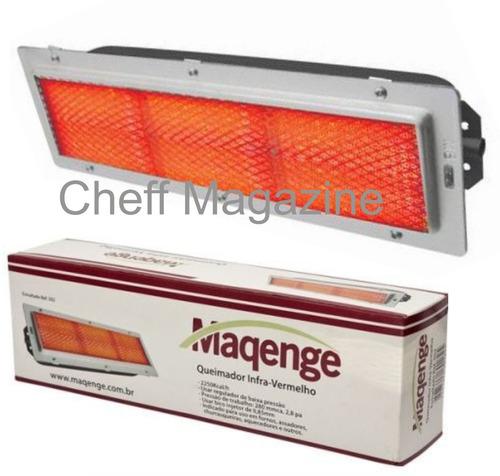 queimador forno infra-vermelho maquina de frango esmaltado
