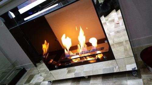 queimador lareira ecológica  1,2 metro -duplo 120cm