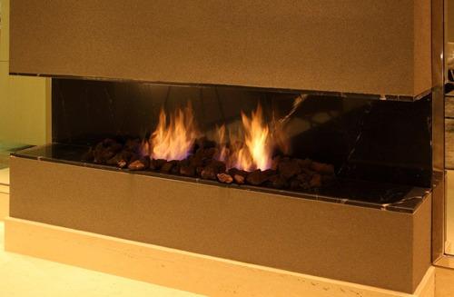 queimador para lareira ecológica à álcool ou etanol 80 cm