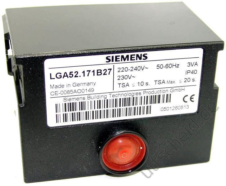 Queimador programador de chama lga 52 siemens landis gyr - Programador calefaccion siemens ...