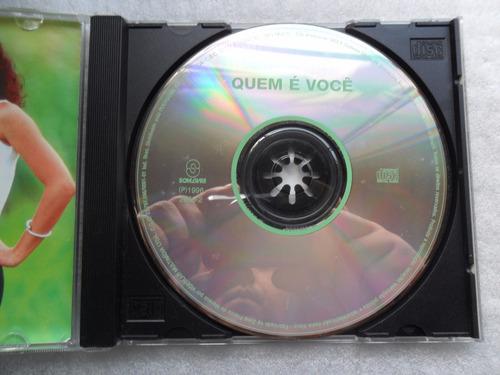 quem é você - nacional - cd da novela 1996 original