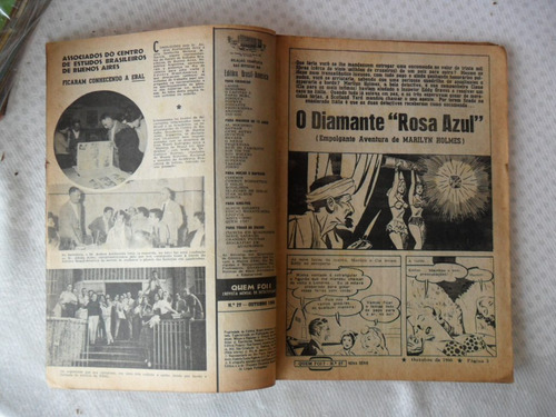 quem foi? 2ª série - nº 27! out - 1960 ebal!