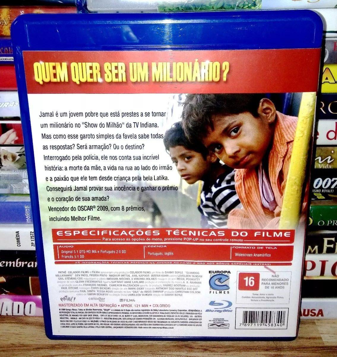 BAIXAR MILIONARIO DUBLADO QUER SER QUEM UM