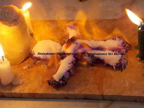 quema del muñeco liberación, amuleto babalawosnbenito