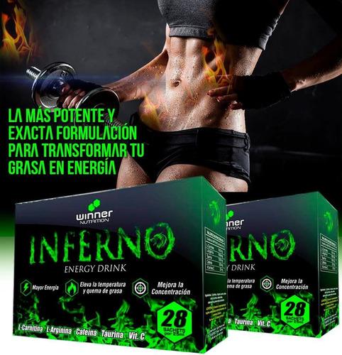 quema grasa inferno bajar de peso carnitina suplemento