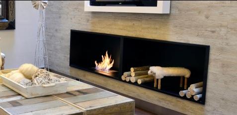 quemador a etanol para chimenea largo 40cm - Chimenea Etanol
