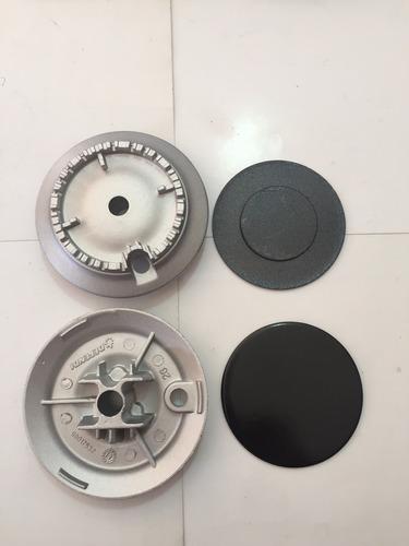 quemador aluminio acros 100%original defendi