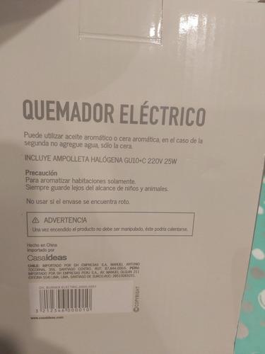quemador aromático eléctrico decorativo casaideas