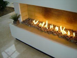quemador chimenea gas interior exterior cm