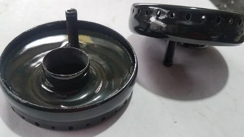quemador con perno para estufa acros whirlpool original