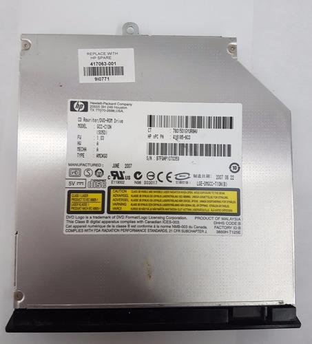 quemador de cd y dvd-rom para compaq v3000 hp 416185-6c0